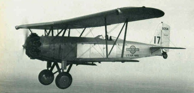 CAM Contract Air Mail First Flights CAM-17