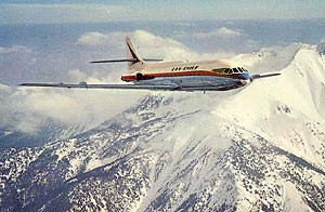 Jet Air Mail First Flights 1960